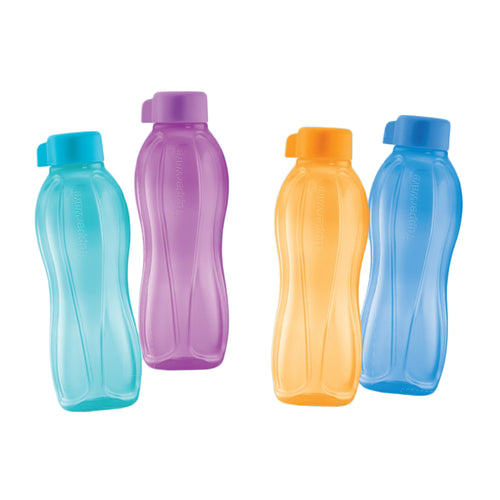 Tupperware Eco Drinking Bottles 750ml x 4 Units