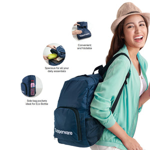 Tupperware Foldable Backpack