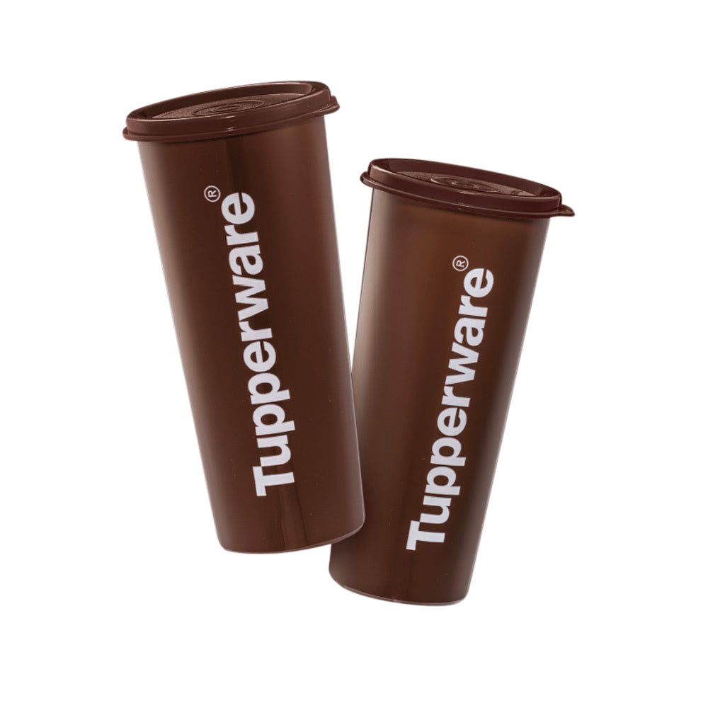 Tupperware Cool Choco Duo Drinking Bottles