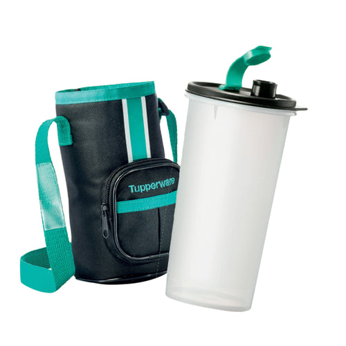 Tupperware High Handolier Tumbler 1.5L with Pouch