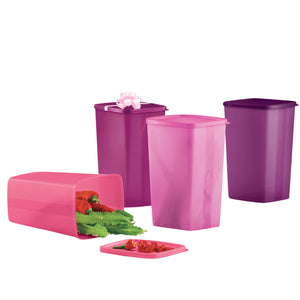 Tupperware Chiller Large Square Round
