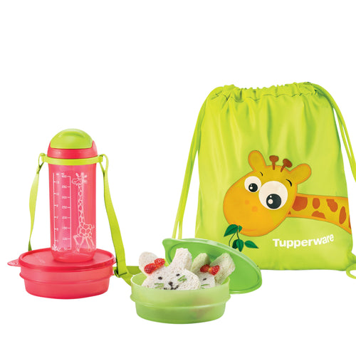 Tupperware Little Explorer Giraffe-Set