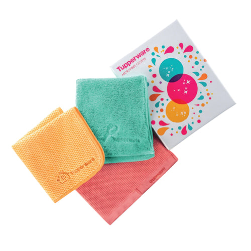 Tupperware Microfiber Set