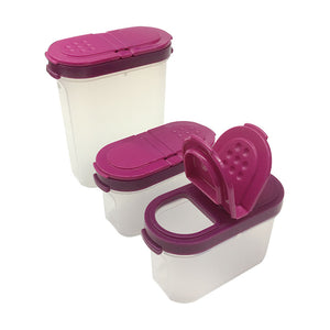 Tupperware Modular Spice Set With Carousel - 16 Pieces