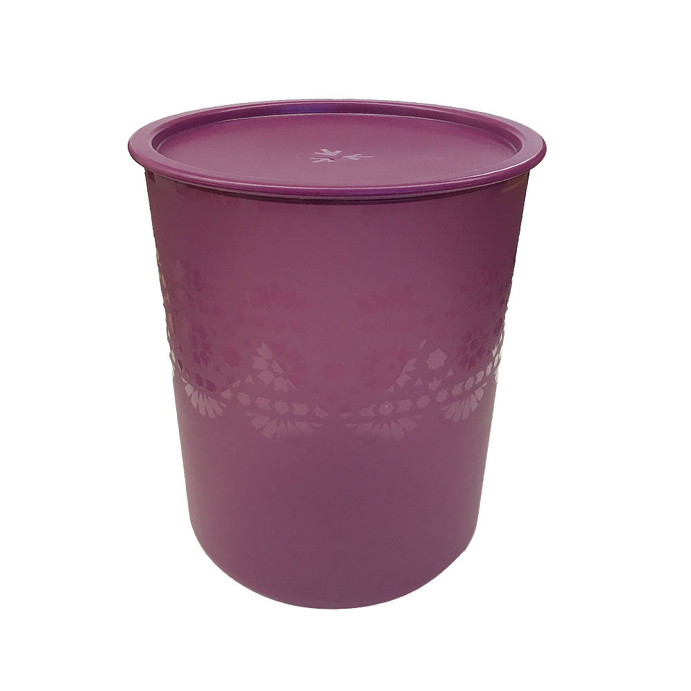 Tupperware Mosaic One Touch Canister Large