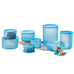 Tupperware Ocean Blue One Touch Set