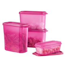 Load image into Gallery viewer, Tupperware Smart Saver Oval Set