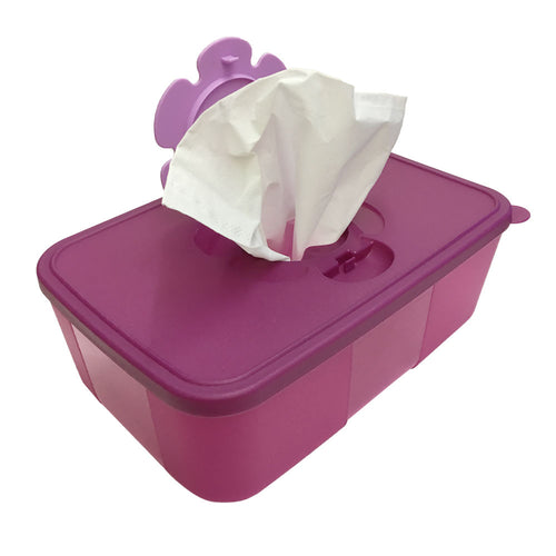 Tupperware Tissue Box