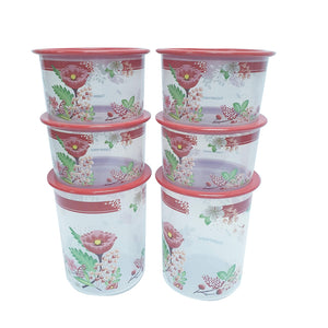 Tupperware Lucky Bloom One Touch Set-Tupperware 4 Sale