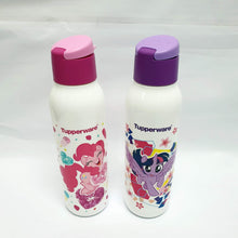 Load image into Gallery viewer, Tupperware Little Pony Eco Bottles With Brush