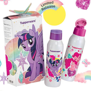 Tupperware Little Pony Eco Bottles With Brush-Tupperware 4 Sale