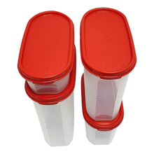 Load image into Gallery viewer, Tupperware Modular Mates Red Oval Set-Tupperware 4 Sale