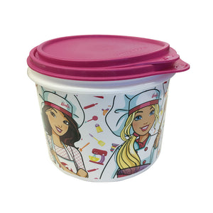 Tupperware Barbie Canister Set