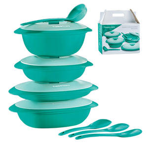 Tupperware Blossom Microwaveable Serveware