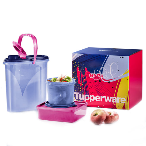 Tupperware Slim & Savvy Snack Set