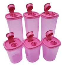Load image into Gallery viewer, Tupperware Breezy Pour Sauce Containers Set x 6 units