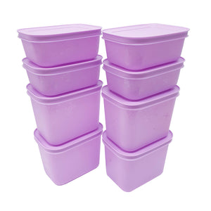 Tupperware 2 In 1 Chill Freez Set - Purple Daisy