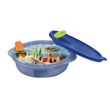 Load image into Gallery viewer, Tupperware Crystalwave Divided Dish 900ml