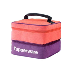 Tupperware Double Decker Pouch