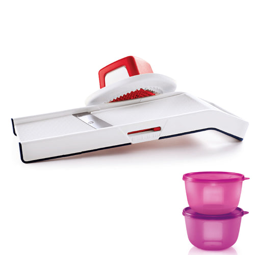 Tupperware Easy Mando With Gift Box & Freebies