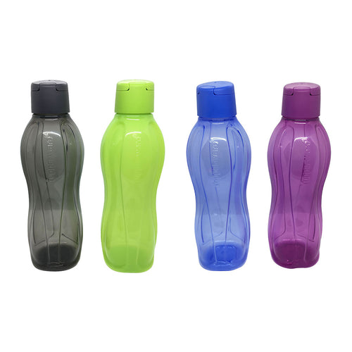 Tupperware Eco Drinking Bottles 1L x 4 Units (New)