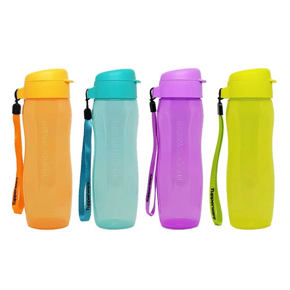 Tupperware Slim Eco Drinking Bottles 500ml