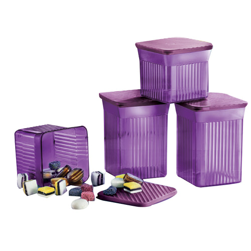 Tupperware Elegant Square Containers Gift Set
