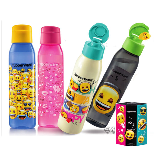 Tupperware emoji Eco Bottles With Gift Box + Lunch box