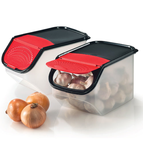 Tupperware Garlic N All Keeper Set