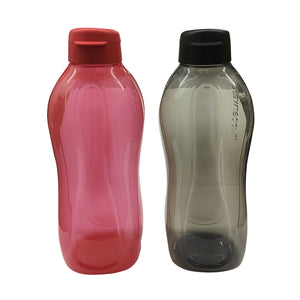 Tupperware Giant Eco Drinking Bottle (Red & Black) 2.0L