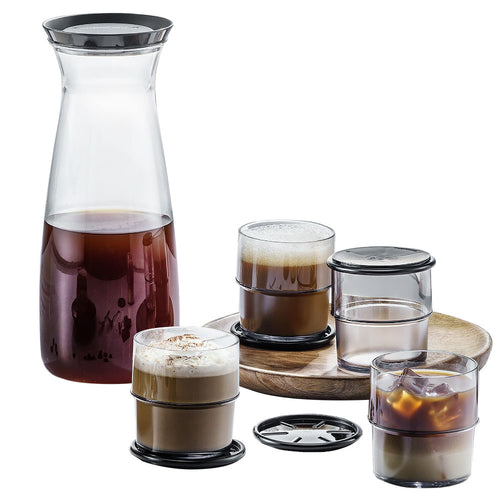 Tupperware Clear Drinking Set