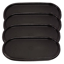 Load image into Gallery viewer, Tupperware Modular Mates Black Oval Replacement Lids