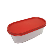 Load image into Gallery viewer, Tupperware Modular Mates Red Oval I - 500ml