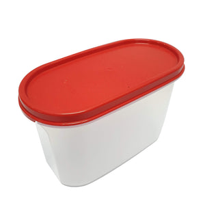 Tupperware Modular Mates Red Oval II - 1.1L