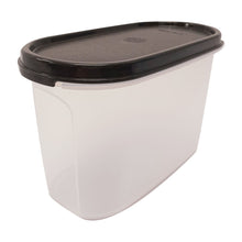 Load image into Gallery viewer, Tupperware Modular Mates Black Oval II - 1.1L