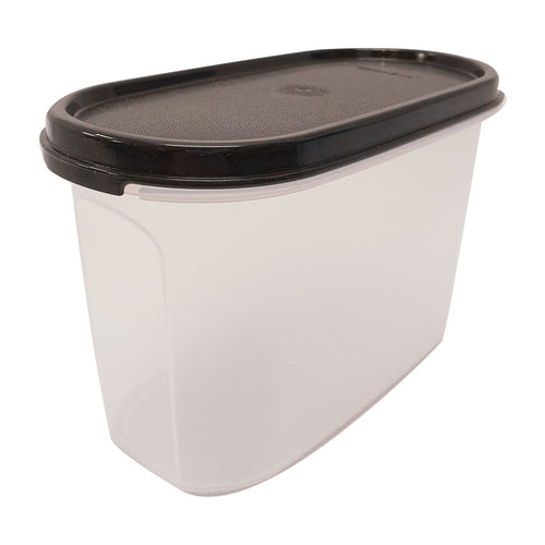 Tupperware Modular Mates Black Oval II - 1.1L