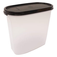 Load image into Gallery viewer, Tupperware Modular Mates Black Oval III - 1.7L