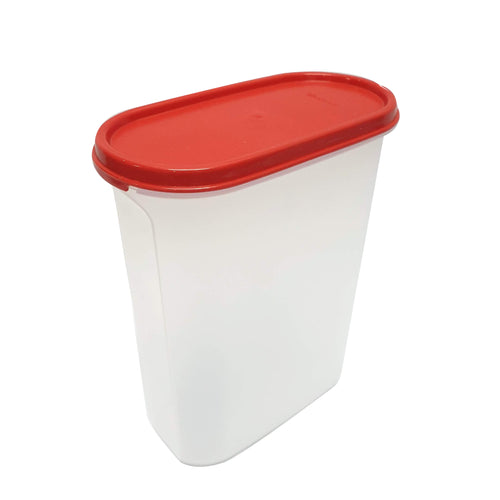 Tupperware Modular Mates Red Oval IV - 2.3L