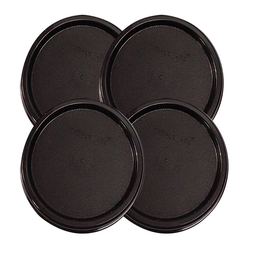 Tupperware Modular Mates Black Round Replacement Lids