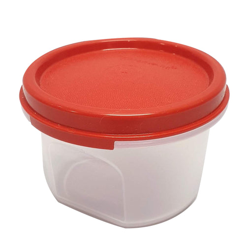 Tupperware Modular Mates Red Round I - 200ml x 2 units