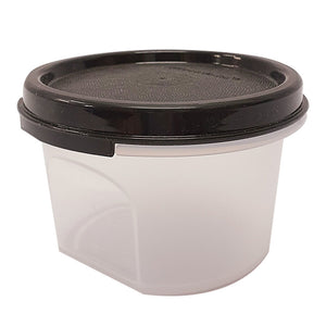 Tupperware Modular Mates Black Round I - 200ml x 2 units