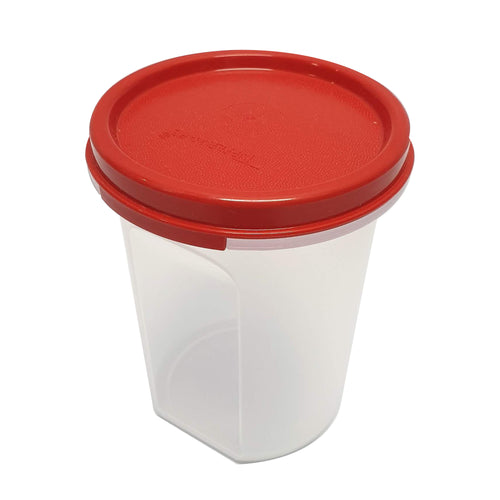 Tupperware Modular Mates Red Round II - 440ml x 2 units