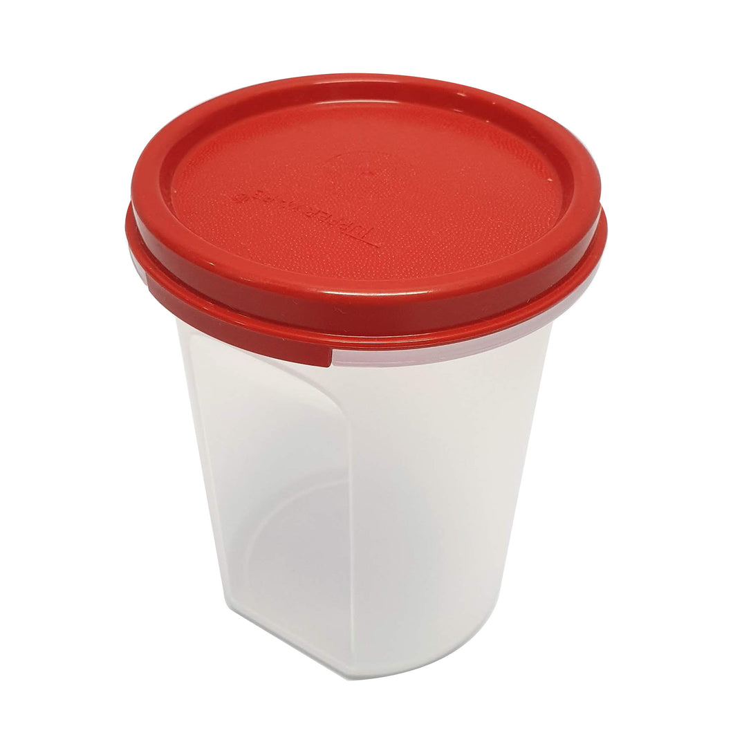 Tupperware Modular Mates Red Round II - 440ml