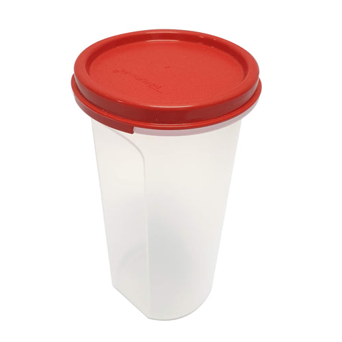 Tupperware Modular Mates Red Round III - 650ml x 2 units