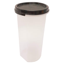 Load image into Gallery viewer, Tupperware Modular Mates Black Round III - 650ml