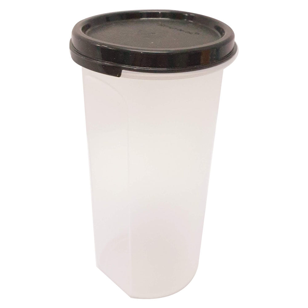 Tupperware Modular Mates Black Round III - 650ml