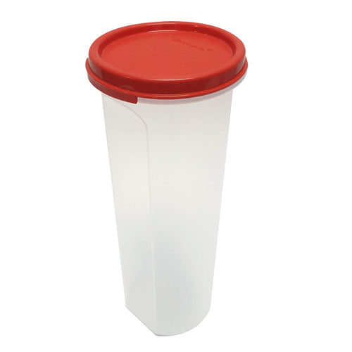 Tupperware Modular Mates Red Round IV - 890ml x 2 units