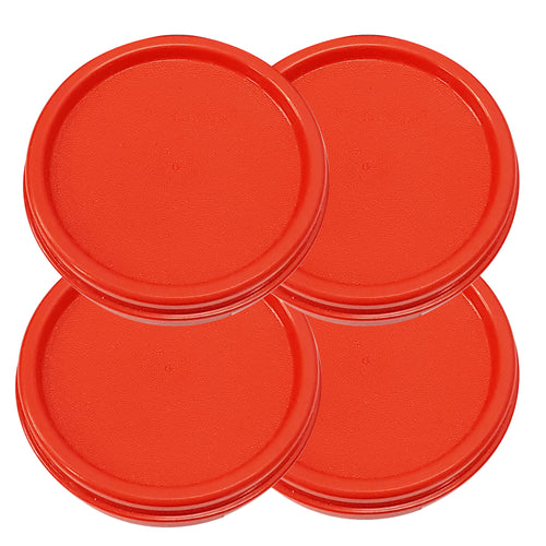 Tupperware Modular Mates Red Round Replacement Lids