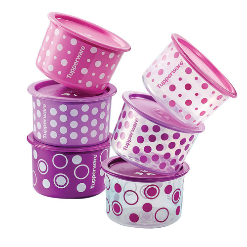 Tupperware Polka Pearls One Touch Toppers