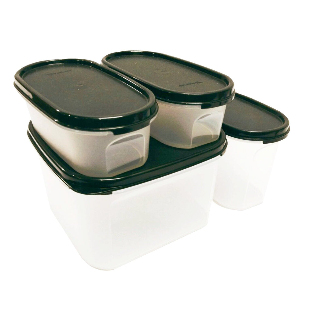 Tupperware Modular Mates Starter Set - Black with Freebies-Tupperware 4 Sale